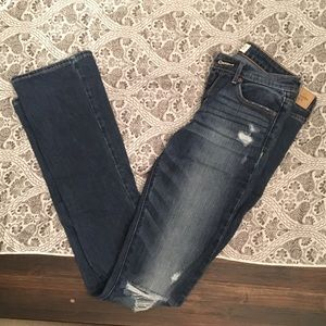 A&F Skinny Boot Cut Jeans